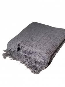 Bilde av Life Towel Throw Antrasitt