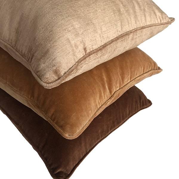Cushion Cover Slub Velvet Havre