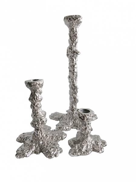 Art lysestake Sølv Small